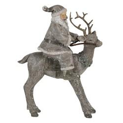 Père Noël sur le renne |...