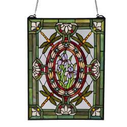 LumiLamp Glaspaneel Tiffany...