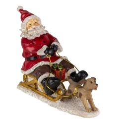 Decoration Santa on sledge...