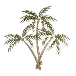 Décoration murale palmiers...