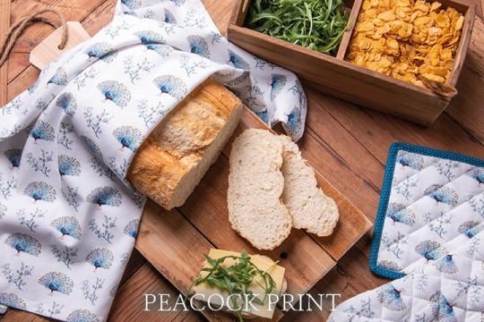 PEP Peacock print